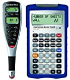 Calculated Industries 6135 2 Piece Scale Master Pro XE Advanced Digital Plan Measure | Bundled with Free Construction Master Plus EZ Contractors Prompting Calculator