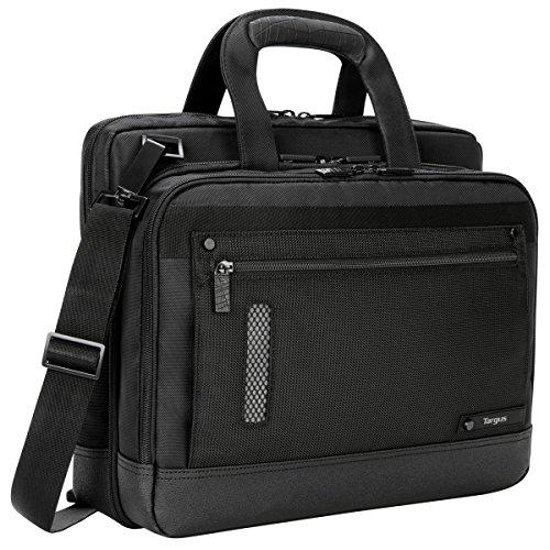 Targus Revolution Checkpoint-Friendly Ultra-Thin Laptop Bag for 13.3-14-Inch Laptop, Black (TTL224)