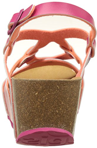 Desigual Bio9 Hearts, Heels Sandals para Mujer Blanco (white 1000)