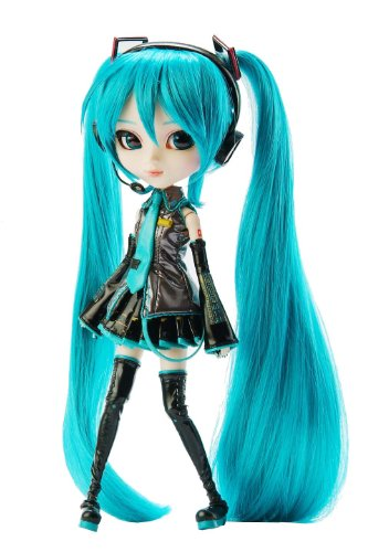 Pullip Dolls Vocaloid Hatsune Miku 12 inches Fashion Doll P-034 (Little Angry Girl Asian Doll)