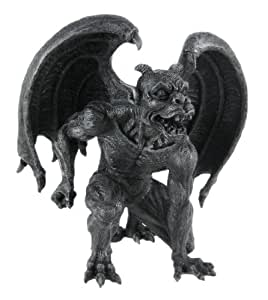 Evil Winged Devil Gargoyle Statue Sculpture by Private Label