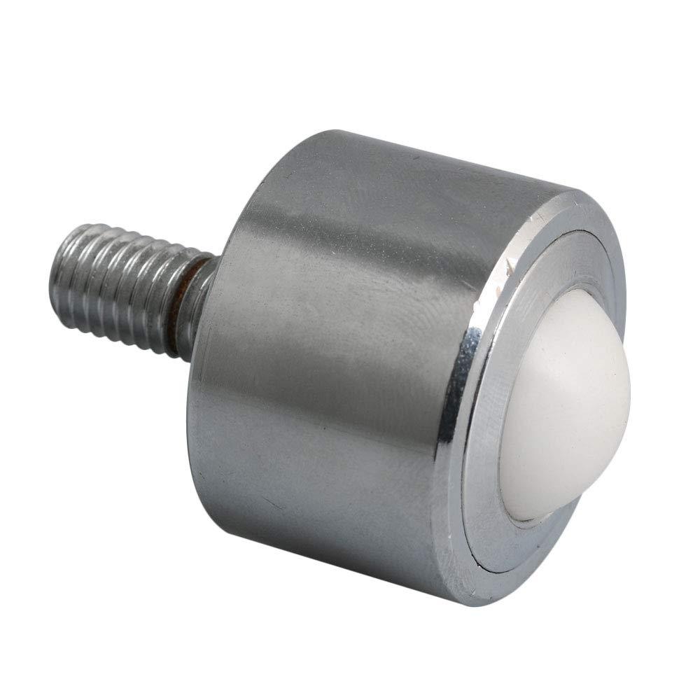 Mxfans Roller Ball Transfer Bearings M10x20mm Thread Stem Caster Wheel 22mm blhlltd