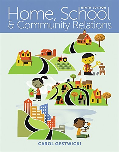 Home, School, and Community Relations by Cengage Learning