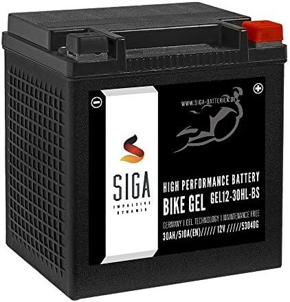Siga Gel Motorradbatterie 30ah 12v 510a En Gel Batterie Yix30l Bs Ytz30l Bs Gt30 3 Hvt