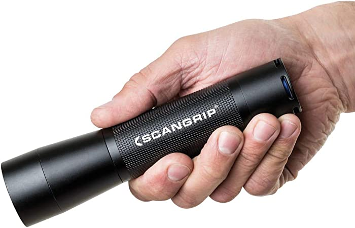 Scangrip 03.5128 Flash 400 R Akku Taschenlampe LED