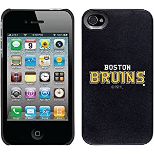 Boston Bruins - Word Logo 2 design on Black iPhone 6 plus 5.5 Thinshield Snap-On Case