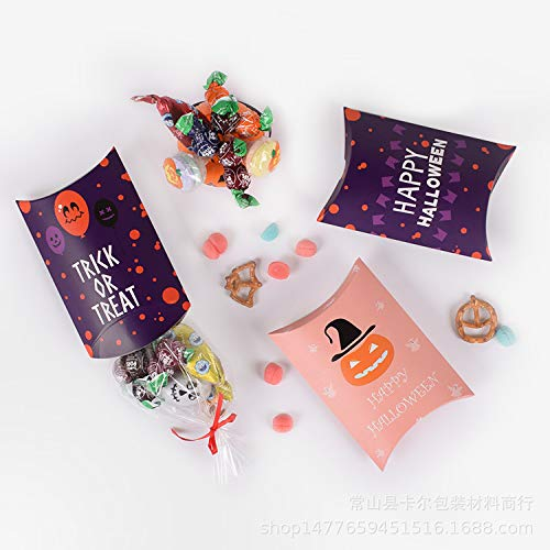 JUSTDOLIFE Ornament Halloween Candy Box Creative Trick or