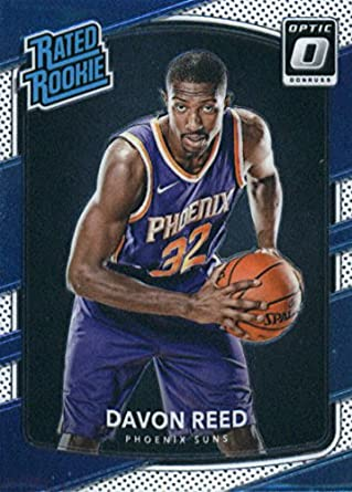 9f22698c2 Basketball NBA 2017-18 Donruss Optic  169 Davon Reed  169 Rated Rookie NM+