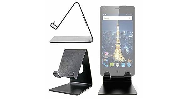 DURAGADGET Atril De Aluminio para Smartphone Cubot King Kong/Cubot Echo/Oukitel Mix 2 Escritorio!: Amazon.es: Electrónica