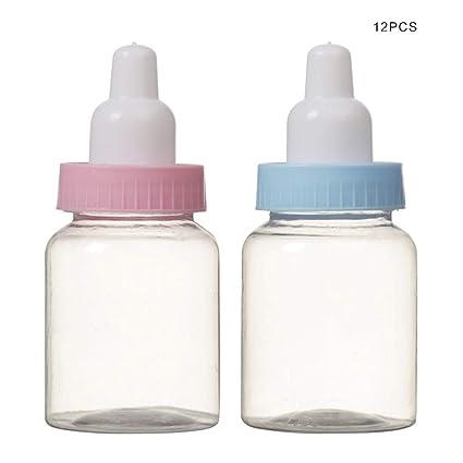 VANKER Pequeñas botellas transparentes de la alimentación de ...