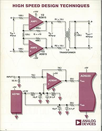 High Speed Design Techniques by Walt Kester (1996-05-03)