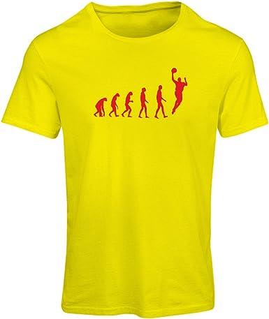 lepni.me Camiseta Mujer evolución de Baloncesto - Canasta de la Calle, me Encanta Este Juego, Gran Fan de Regalo: Amazon.es: Ropa y accesorios