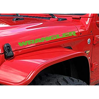 "2 10/"" 2006-2012 Jeep Sport Wrangler Unlimited JK Decal Set"