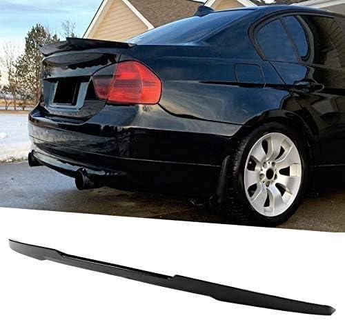 YXYNB Aile De Becquet De Toit Arri/ère De Voiture Noir Brillant pour Becquet De Couvercle De Coffre Haut Style M4 pour BMW S/érie 3 E90 M3 2006-2011