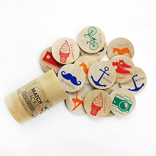 Tree Hopper Toys - Little Hipster Match Stacks (Match Hipster)