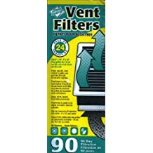 Dust Control Vent Filters (90 Day) - Pack of 24