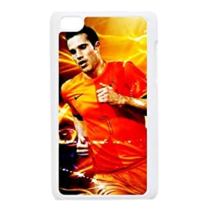 Ipod Touch 4 Designed Phone Case Manchester United Football Club Centre Forward Holland Robin Van Persie XG171305