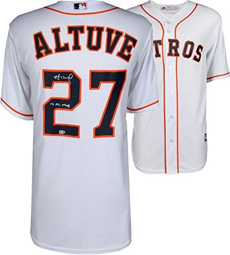 Jose Altuve Houston Astros Autographed Majestic White Replica Jersey with