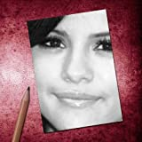 Seasons SELENA GOMEZ - ACEO Sketch Card (Signed by the Artist) #js003