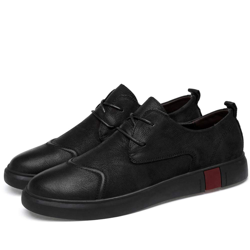 Noir Lace Shuo lan hu wai Penny Loafers Mocassin Driving chaussures Hommes Chaussures Slip on Flats en Cuir véritable,Chaussures de Cricket (Couleur   Marron, Taille   40 EU) 37 EU