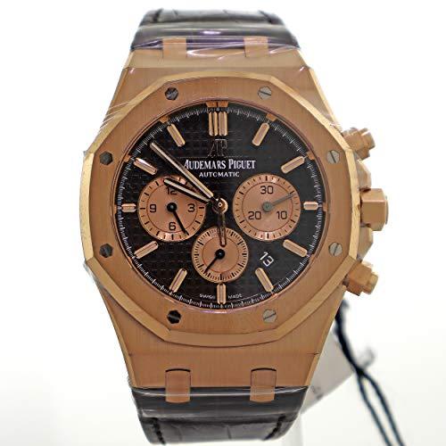 - Audemars Piguet Royal Oak 41MM Brown 18K Rose Gold Men's Watch 26331OR.OO.D821CR.01