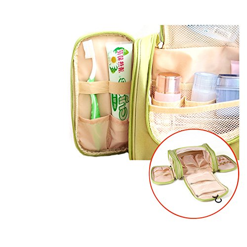KevenAnna Hanging Toiletry Bag for Men, Women and Kids - Organizer for Travel Accessories and Toiletries