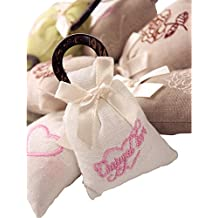 """Set of 4 Lovely 2""""x4"""" Sachets Filled with Cherry Blossoms Fragrance"""