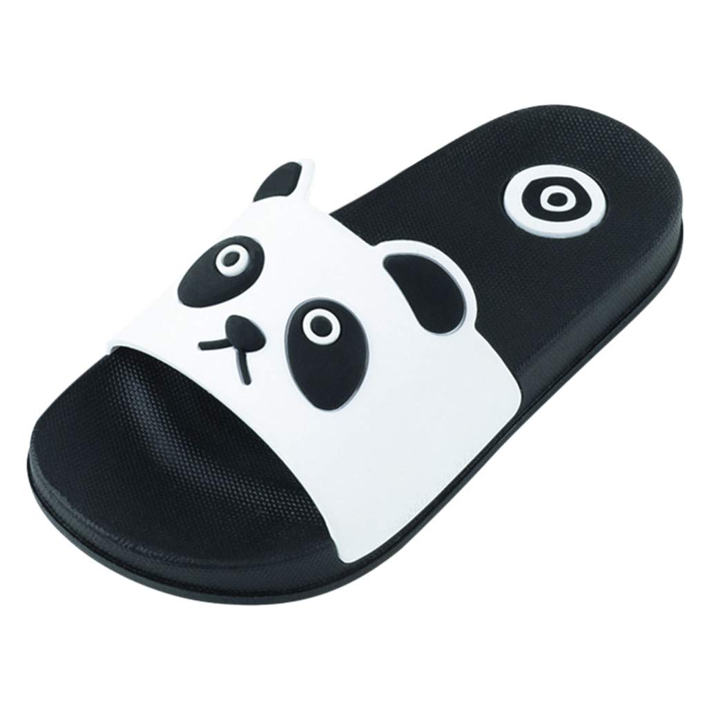 Cloudro Baby Beach Sandals Little Boy Girl Cute Panda Slippers Shoes for 4-12Years