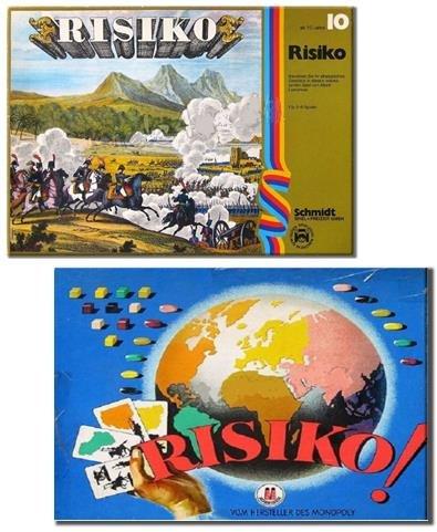 Risiko - Ein Strategiespiel von Schmidt Spiele. Das Brettspiel mit echten Holzfiguren aus den 60 er Jahren