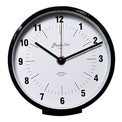 Amazoncom Aemember Inch Base Clock Wall Clock In The Living Room - 6 inch black cove base