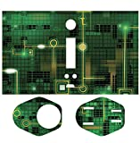 Skin-2-win Computer Board Protective Vinyl Skin Wrap Sticker Decal for Wismec Reuleaux Rx200 Rx Tc MOD 200w 200 Watt Vape