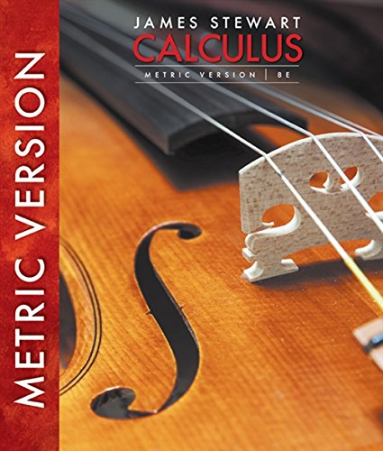 Calculus, International Metric Edition (International Metric Version)
