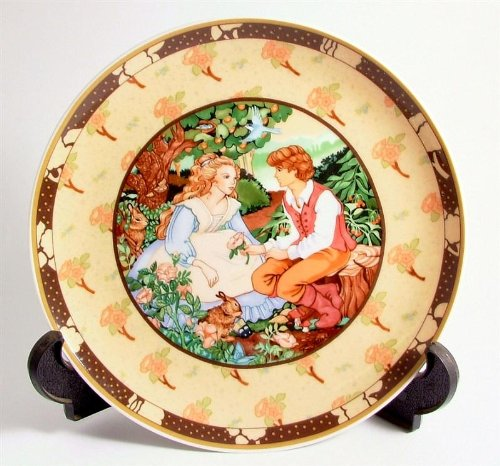 - Heinrich Villeroy and Boch Roses are Red from the Once Upon a Rhyme series by Renee Faure CP226