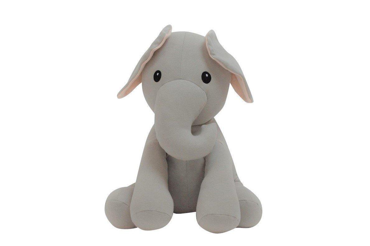 Elly Lu Edmund The Elephant - Organic Stuffed Animal (8 in) by Elly Lu