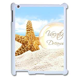 Personalized Case for Ipad 2,3,4 - Beautiful starfish ( WKK-R-99518 )