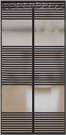 Moscas Mosquitera Para Ventanas Negro 70x200cm Icegrey Mosquitera Magn/ética Para Puertas Cortina Para Puerta Para Protecci/ón Contra Insectos Cinta Adhesiva Instalaci/ón Mosquitos