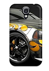 New Very Colorful Car Tpu Case Cover, Anti-scratch UVYoaQH1565KgeTR Phone Case For Galaxy S4