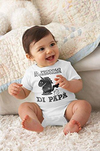 Arancione Papà Maglietta Di Neonato Piccolo Idea Ll Regalo Scoreggione Divertente Shirtgeil Unisex 0PU1wqx