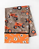 Allis Chalmers Tractors Pillow Case, Brown