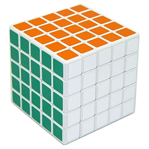 5x5 Speed Cube Magic Square Cube Intellectual Toy IQ Puzzle Gift Super-durable (5 Square Corner)