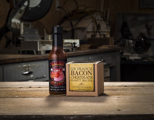 Bacon Gift Pack (Bacon Lover Sampler Set) - Bacon Six Ways - Gourmet Food Gift - Great Gift For Men - Comes in a Wooden Gift Crate by Broquet (Image #3)