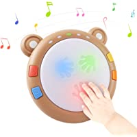TUMAMA Baby Musical Toy, Electronic Drum Instruments with Light and Sound, Early Educational Development Songs Gift for…
