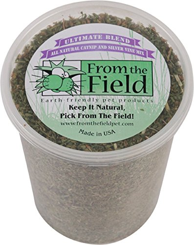 From The Field Ultimate Blend Silver Vine Catnip Mix Tub  3 5 Oz Large