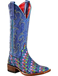 Macie Bean Womens Unbeweavable Cowgirl Boot Square Toe - M9087 Move