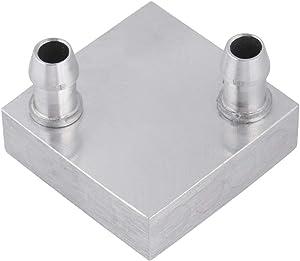 ASHATA 40x40mm Water Cooling Aluminum Block for CPU Graphics Radiator Heatsink Water Cooler