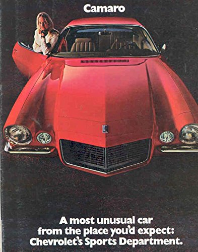 1970 Chevrolet Camaro Sales (Camaro Sales Brochure)