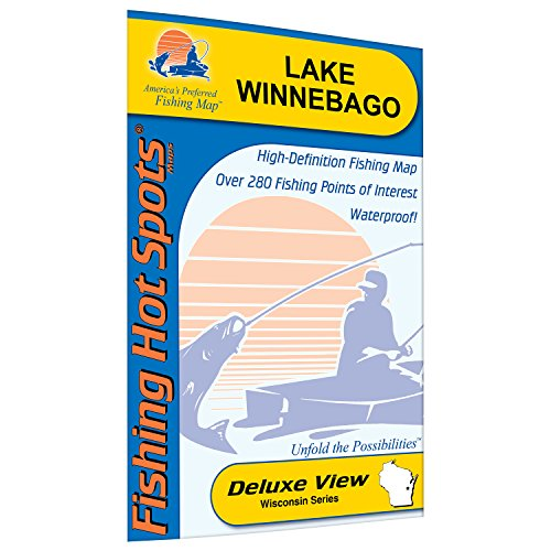 Winnebago Fishing Map, Lake (Winnebago Co)