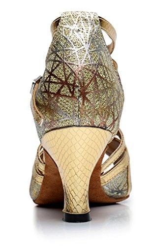 6cm Heel Joymod Donna Ballerine Gold MGM xaTARn