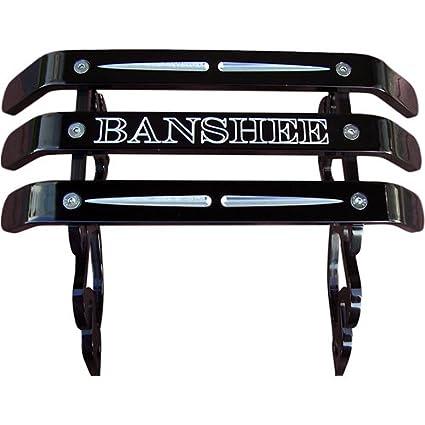 Tag Banshee Bumper on banshee front, banshee heel guards, banshee tires, banshee with no filter, banshee grab bar, banshee motors with label, banshee exhaust, banshee flat tracker, banshee shocks, banshee monster, banshee graphics, banshee dark art, banshee go kart, banshee water pump, banshee wheels, banshee bar teeth, banshee case on, banshee the book,