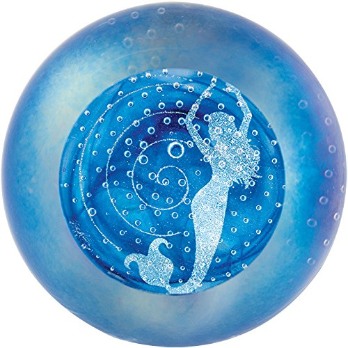 (Glass Eye Studio Siren of the Sea Paperweight Paperweight Deluxe)